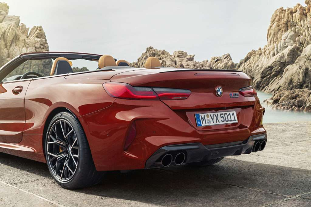 BMW M8 Competition xDrive Cabriolet F91