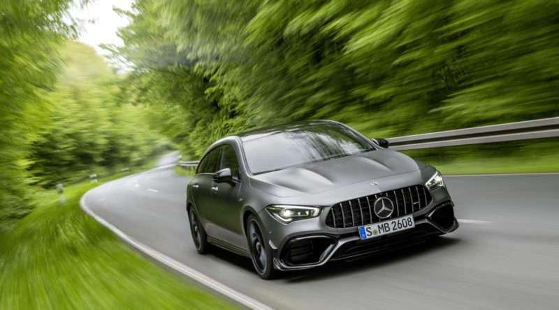 Mercedes-Benz AMG CLA 45 S 4MATIC+ Shooting Brake