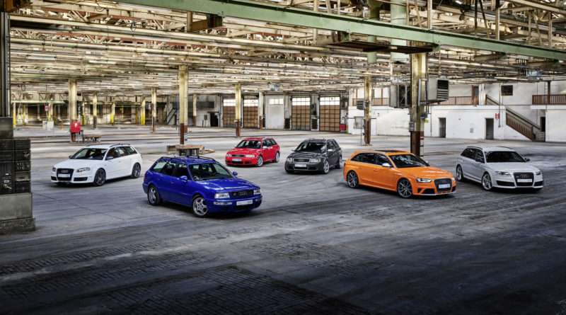 Audi RS 25 Jahre