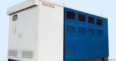 Toyota Wasserstoff-Brennstoffzellen-Generator