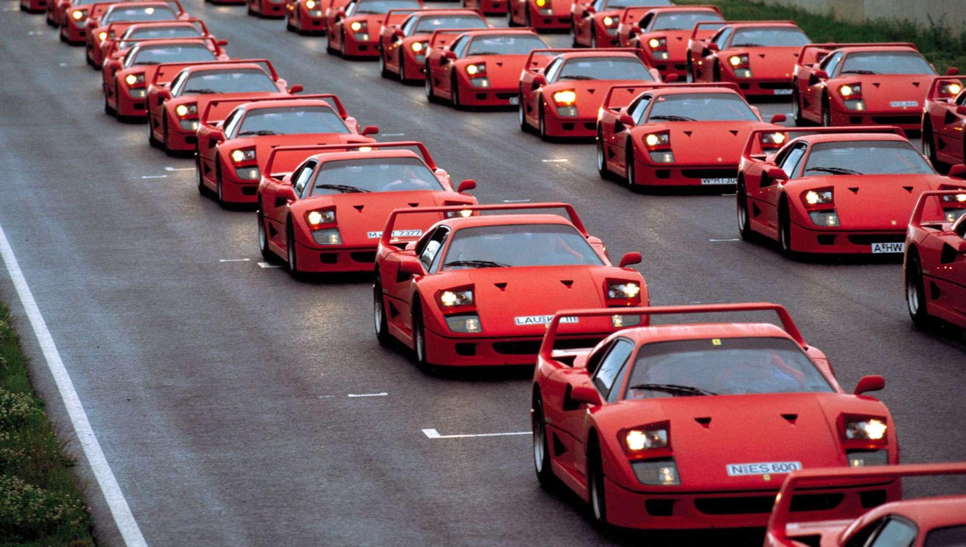 Ferrari F40 Treffen Treffen Der Ikonen Ladedruck Net