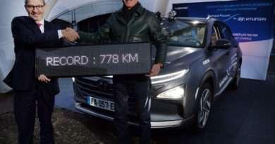 Hyundai Nexo Rekord