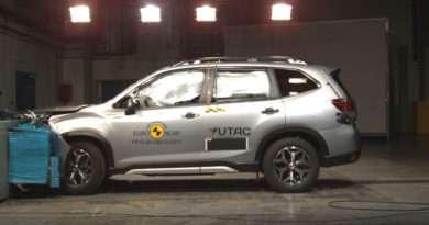 Subaru Forester 2.0ie SK Crash Test