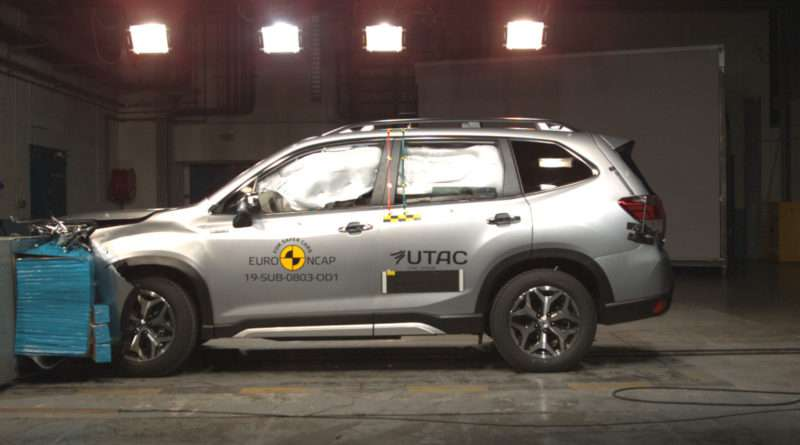 Subaru Forester 2.0ie SK Crash Test