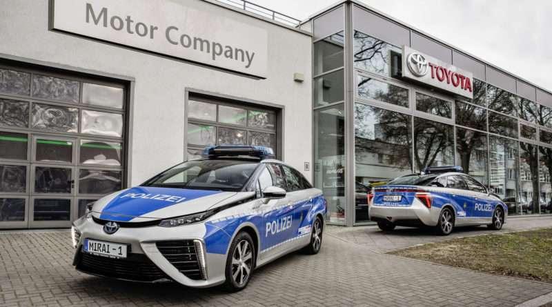 Toyota Mirai Polizei