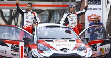 Toyota Yaris WRC Rallye Monte Carlo