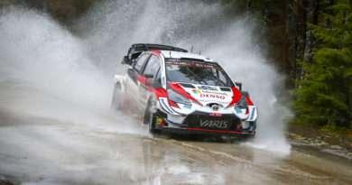 toyota Yaris WRC Rallye Schweden