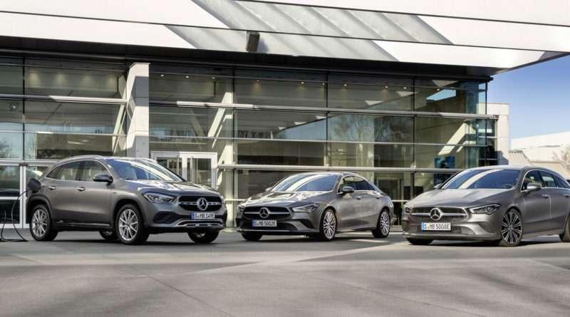 Mercedes-Benz CLA 250 e GLA 250 e