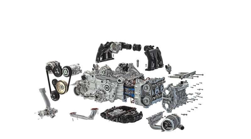 Porsche 911 Turbo S 992 Motor