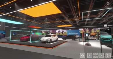 VW Genfer Automobilsalon virtual