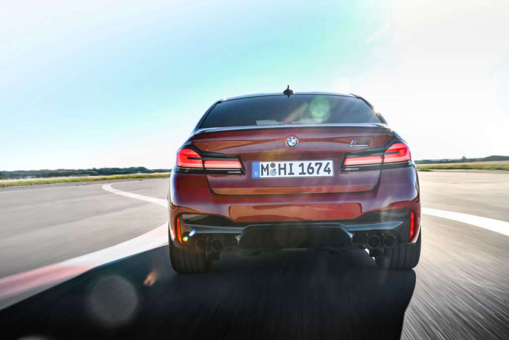 BMW M5 Competition F90 Facelift