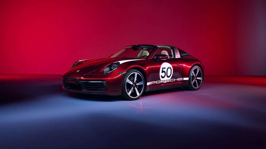 Porsche 911 Targa 4S 992 Heritage Design Edition