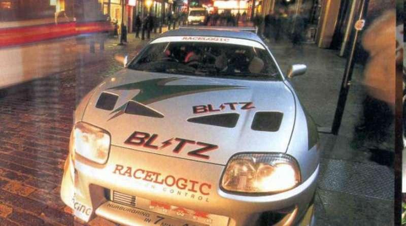 Toyota Supra A80 MKIV Blitz Racelogic