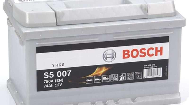 Starterbatterie Bosch 574402075 74AH 750A 12V