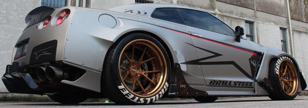 Nissan GT-R R35 Bodykit